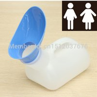 Cheap Portable 1L Unisex Female Urinal Toilet Urine Urination Device Bottle Emergency Closestool Outdoor Camping Travel Tool Tent