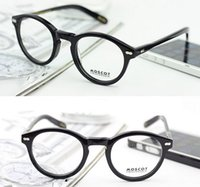 eyeglasses - Eyeglass Frame Vintage Glasses frame Black Tortoise Crystal Blonde Color with word size on arm