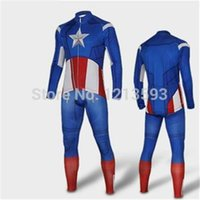 Cheap 2015 NEW ITEM Captain America Superman Spiderman Iron Man 2014 Cycling Jersey long sleeves bib pants Set ropa ciclismo wolfbike bicycle wear