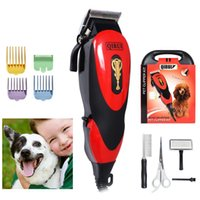 Cheap Pet Grooming Clippers Shaver Kits Pet Scissors Hair Trimmer Supplies Tools Machine to Haircut Dogs Cats AU Plug