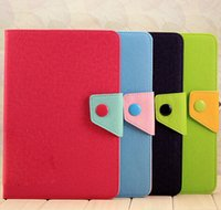 Cheap Ipad mini Case Flip Leather Stand Case for Apple ipadmini Tablet PC Smart Cases Shockproof Double Color Cover Skin with Holder Hot and Cheap