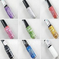 art supplies drawing sale - hot sale h107 Nail oil supplies take a pen drawing art coulourful for lady woman new on sale
