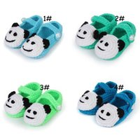 Wholesale 2015 new handmade knitted crochet shoes Toddler cotton Shoes Handmade infant Shoes baby First walker shoes