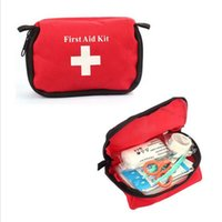 Wholesale 2015 Travel Survival Pack Home Sport Wilderness Emergency First Aid Kit Bag Free Shopping Wholesales