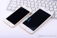Android cdma cell phones - 2015 Unlocked i6 Plus Octa Quad Core GHz GB G Goophone MTK6582 Android metal body cell phone smartphone phones v3