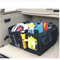 Wholesale New Multipurpose Trunk Pouch Car Glove Box Storage Cubby Box Collapsible Tidy Car Bag auto Organizer Brand New