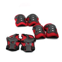 Wholesale 1Set Knee Dads Elbow Pads Wrist Pads For Child Roller Skating Biking Protective Gear