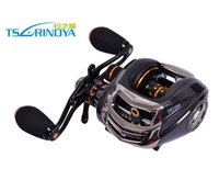 baitcaster reels - High Quality Trulinoya TS1200 Bearings Left Right Hand Baitcasting Reel g Bait Casting Fishing Reel Baitcaster