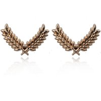 Wholesale Women Jewelry Collar Brooch Chain Tassel Double Lapel Pin Brooch Men And Women Leaf Crystal Pin Brooch Men Shirt Suit Brooches