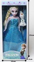 Wholesale Barbie doll frozen Elsa Anna Big adventure of ice and snow and sisters for a doll CM DROP SHIPPING