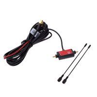 tv signal amplifier - Universal M In Car Radio DVB T Digital TV Antenna with Amplifier ISDB T Signal Antenna TV Box Antenna K2323