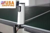 Wholesale US Stock to USA Grey Black Table Tennis Games Retractable Net Portable Table Tennis Net Replacement Telescopic Pingpong Net