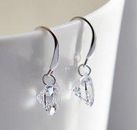 Wholesale Women Austrian Crystal Drop Bridal Earrings Big Fashion Wedding Dangle Earring mm mm mm Y047