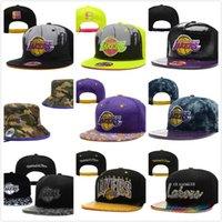 Lakers leopardo Snapbacks Moda Baloncesto Caps 2014 Nueva Sprap Volver Sombreros Bran Ball Caps Top Deportes Hat Vuelos sombreros de Sun en Venta