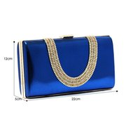 Wholesale Bridal Hand Bags Bridal Accessories Shining Beaded Clutch Purse Evening Bags New Arrival Hot Sale Beauty