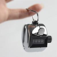 Tally Counter Hand Held Golf comptage course Lap Inventaire - gros métal Hot Sale arrivée de nouveaux 100pcs / lots