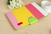 Wholesale For iPad Mini Hybrid PU Leather Wallet Flip Pouch Stand Case Cover For Apple iPad mini