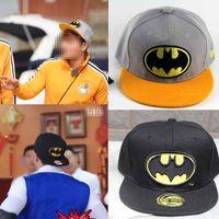 Cheap Batman Snapback Baseball Hat Men Women Family Travel Essential Real Fashions Cap