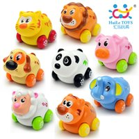 baby departments - Department of music small naughty animal inertia toy car cartoon engineering car baby toy car