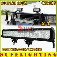 1100lm atv equipment - 1PCS INCH W CREE LED LIGHT BAR COMBO BEAM OFFROAD LAMP FOR TRACTOR BOAT MILITARY EQUIPMENT ATV WD LED BAR LIGHT W