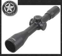 achat en gros de scope scope scope-TAC Vector Optics Marksman 10x 44mm Chasse Long Eye Relief Varmint Rifle Scope Vue avec RangeFinder Glass Reticle 30mm Mount Ring