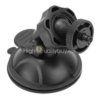 Wholesale Practical Car Windshield Suction Cup Mount Holder for Action Sports Camera Black