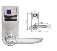 Wholesale new new new Reversible Handle Biometric fingerprint lock F
