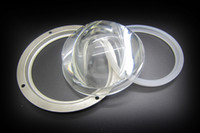 Wholesale Batwing mm Glass Lens Silicone Ring Holder Bracket Case Kit For W W W W High Power Led Light