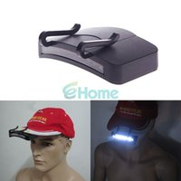 Wholesale 11 LED Clip On Cap Hat Light Camping Walking Working Cycling Hiking Hunting