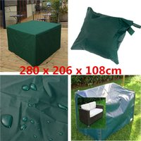 Wholesale New breathable and durable x x cm Waterproof Indoor Outdoor Garden Furniture Set Cover Table Chair Shelter