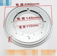 Wholesale Round disc rotating TV cabinet furniture swivel plate iron shelf universal rotary table diameter cm