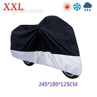 Wholesale Size cm Motorcycle Covering Waterproof Scooter Cover UV resistant Heavy Racing Bike Cover