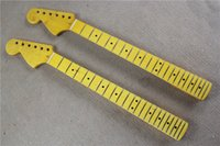 Wholesale Hot Sale Semi finished Vintage string Electric Guitar Neck Made from Maple and Can be Changed as Request