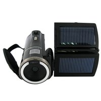 Wholesale 16Mp Max P HD Solar Digital Video Camera with x Digital Zoom and Rechargeable Lithium Battery
