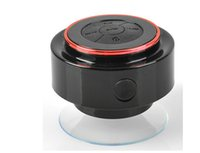 Wholesale IPX7 Outdoor Portable Waterproof Wireless Bluetooth Speaker Suction Cup Handsfree MIC Voice Box Speakers for iphone Plus Cell phone