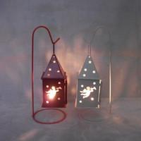 Wholesale 2015 Vintage candle holder home docor romantic YZ T0146 deer angel Christmas tree pentacle house creative