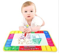 Wholesale 1 x Water Drawing Painting Writing Board Mat Magic Pen Kids Children Toys Xmas Gift