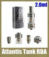Replaceable air globe - atlantis rda atlantis tank air flow control rebuildable atomizer ml cartomizer e cigarette VS mini protank glass globe AT112