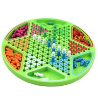 Wholesale Star Island Early Learning Toys hexagonal puzzle game of checkers Desktop Memory large children s toys