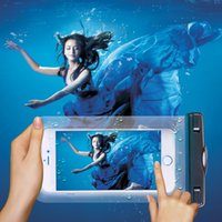 armed pc cases - 1 NEW Transparent Waterproof Underwater Pouch Bag Dry Case Cover For Mobile Phone inch with arm band for iphone S plus samsung S6
