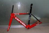 cervelo s3 - Gift offer New Cervelo S3 Red full carbon bike frame Fork Seatpost Clamp Headset Best Selling Road Bike Frameset