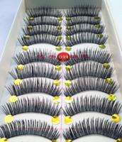 Wholesale 10Pair Thick False Eyelashes Mink Eyelash Eye Lashes Makeup Natural Long High Quality to make up
