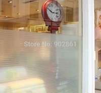 Wholesale Funlife x100cm x39 in Strip Classic Design Privacy Frosted Decorative Glass Window Vinyl Static Cling Film