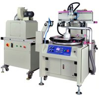 auto printing machine - Stationery Ruler High Speed Screen Printing Machine with Auto Baiting UV flat screen printing machine Flat screen printing machine