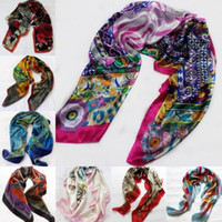 Wholesale New Arrival Silk Scarves Real Picture In Stock Fast Delivery High Quality Ladys Girls Soft Wrap Shawl Trendy Scarf ZAHY LAN0702