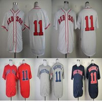 red clay - 2016 New Clay Buchholz Jersey Boston Red Sox Jersey Baseball Jersey White Red Grey Blue Top Quality