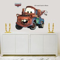 baby girl wallpaper - Cartoon car child room decoration wall stickers for kids rooms boys girl nursery decor wallpaper for kids baby room wall sticker