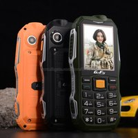Wholesale Russian Polish Portuguese ItalianTurkish Arabic Spanish Big Speaker Shockproof mAh Long Standby Powerbank torch FM mobile phone P069