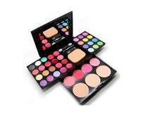 Wholesale Genuine Cosmetic Compact makeup palette color makeup kit whole set beauty makeup powder eye shadow