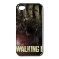 apple tv black - The Walking Dead TV poster personalized printing phone case protective cover for iphone s s c plus brand new